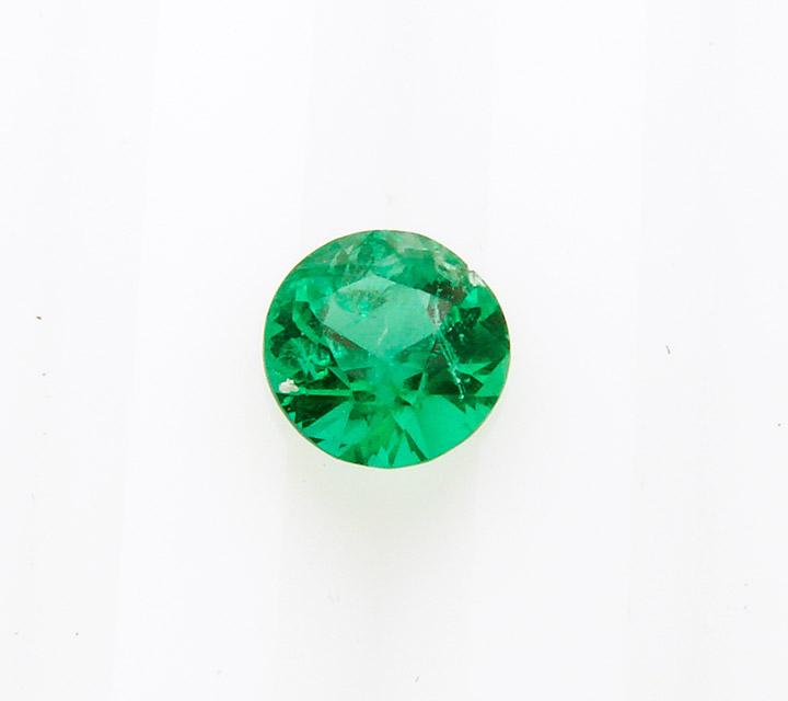 gemstone Zambian round cut emerald
